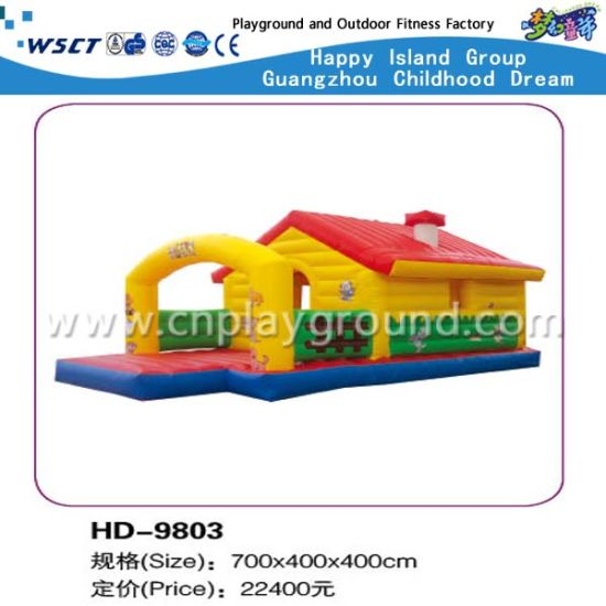 Small Inflatable Game Outdoor Soft Inflatable Castle (HD-9801) pictures & photos