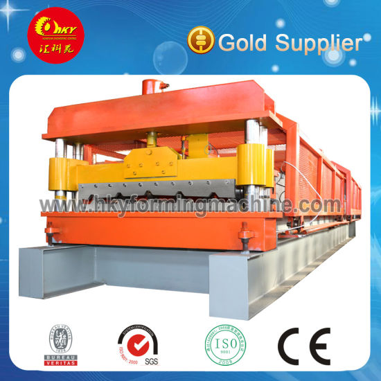 Trapezoid Roofing Metal Profile Sheet Making Roll Forming Machine in China