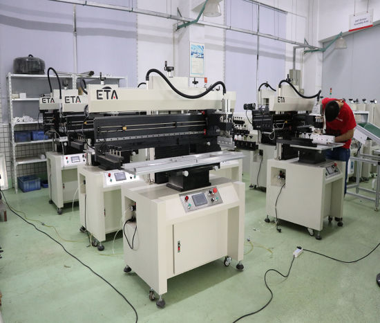 Full Automatic Soldering Paste Printer PCB Board Screen Printing Machine pictures & photos