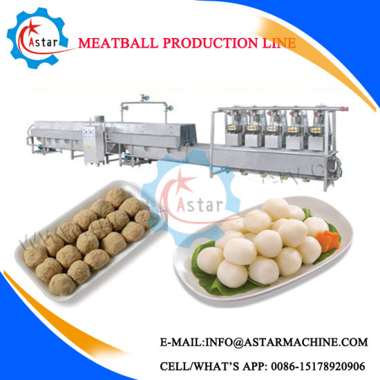 Fish Beef Pork Meatball Processing Production Line for Sale