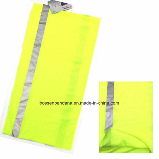 Custom Made One Color Dyed Polyester Multifunctional Outdoor Sports Neck Tube Headscarf pictures & photos