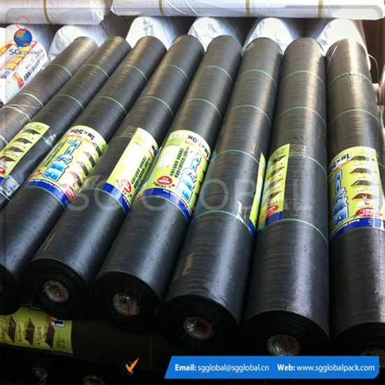 PP Woven Fabric Plastic Weed Control Ground Cover Fabric pictures & photos