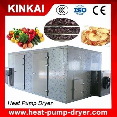 Heat Pump Dehydrator Type Vegetable and Fruit Drier Machine