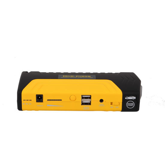 16800 mAh Car Emergency Power Bank 2.4L Diesel Car Jump Starter with Air Compressor