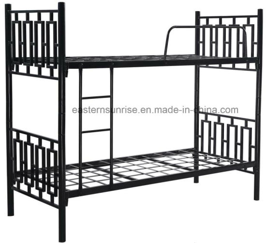 China New Design Cheap Price Metal Double Bunk Bed For Labor China