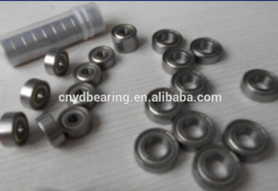 High Performance Miniature Ball Bearings 2*7*3mm Mr72zz pictures & photos