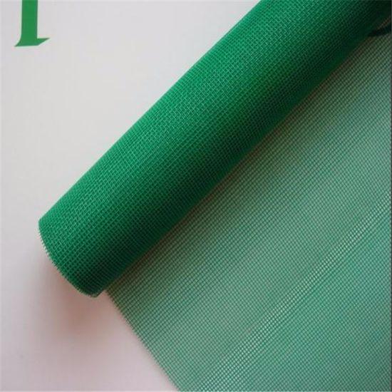 Green Enamelled Iron Wire Window Screen (0.23mm, 0.25mm, 0.27mm)
