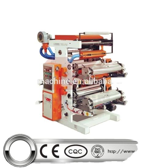 Automatic Flexo Printing Machine Suitable for Printing Cellophane and Roll Paper