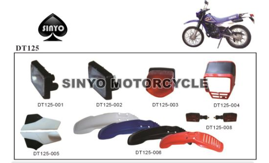 Wholesale Dt 125ccmotorcycle Body Parts