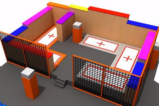 Professional Trampoline for Kids and Indoor Children Trampoline
