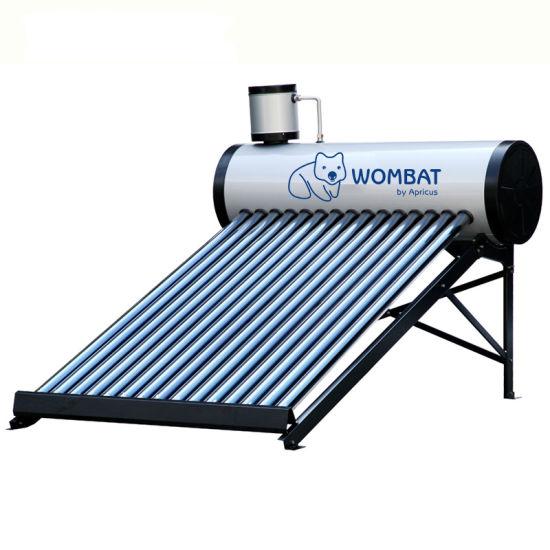 Apricus Evacuated Tube Unpressurized Solar Water Heater