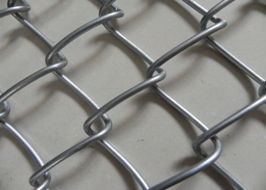 Hot Dipped Galvanized Chain Link Fence/Electric Galvanized Chain Link Fence pictures & photos
