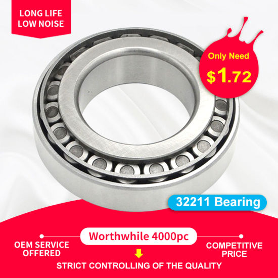 32211 Car Axle Bearing Locomotive Bearing Automobile Wheel Hub Bearing Bearings Tapered Roller Bearing OEM Bearing