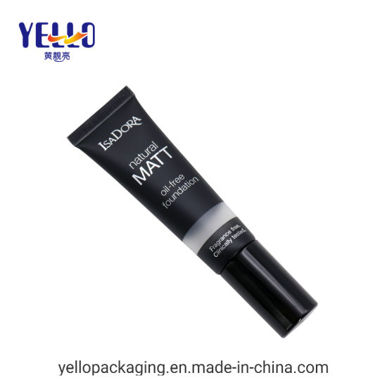 Custom Made Fancy Airless Pump Cosmetic Packaging Tube for Foundation