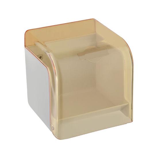 Luolin -Saver in Future- Paper Holder Bathroom Toilet Paper Roller, Tissue Holder Paper Towel Holder, Tissue Box Napkin Rack Paper Box Accessory, 9613-13