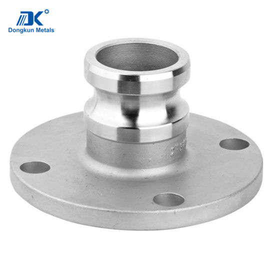 Stainless Steel Quick Flange Coupling for Valve