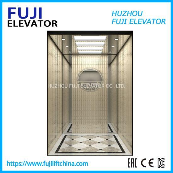 FUJI Vvvf China Factory Observation Lift Panoramic Passenger Home Villa Observation Elevator Lift