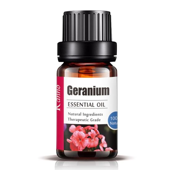 Wholesale Geranium Essential Oil 10ml Massage Aromatherapy Essential Oil Small Batch OEM/Obm