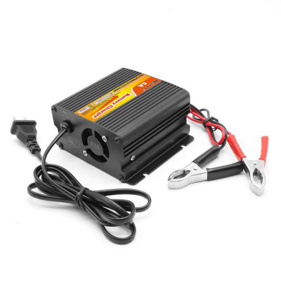 Intelligent Control and Management High Efficiency 12V 5A Battery Charger