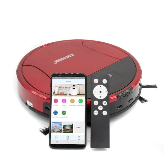 Camera Function Cordless Strong WiFi Remote Control Function Automatic Vacuum Cleaner