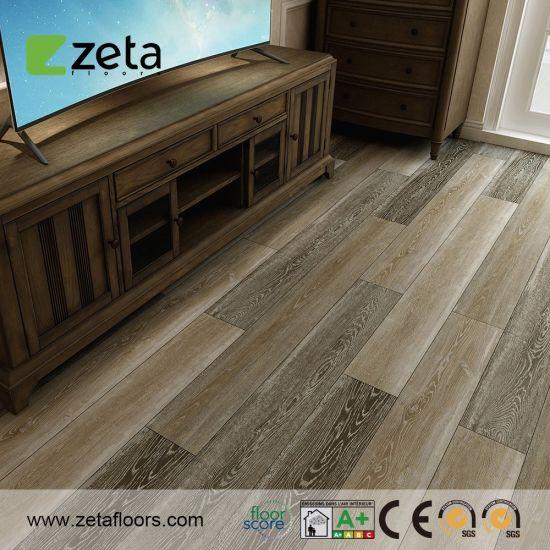 Soundproof Fireproof PVC Floor Spc Floor Direct Click