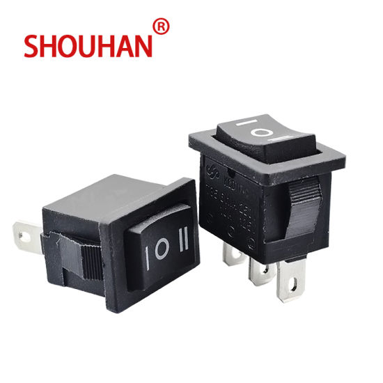 Kcd11 3 Pin Rocket Switch for Momentary Switch