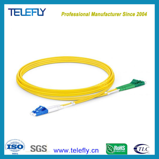 High Quality Low Price Low Insertion Loss G652D/G657A1 Singlemode Duplex LC/Upc-LC/APC Fiber Optic Jumper Optical Fiber Patch Cord, 3.0mm/2.0mm, 3 Meters pictures & photos