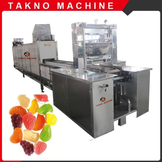 Full Automatic Gummy Bear Jelly Candy Making Machine for Factory