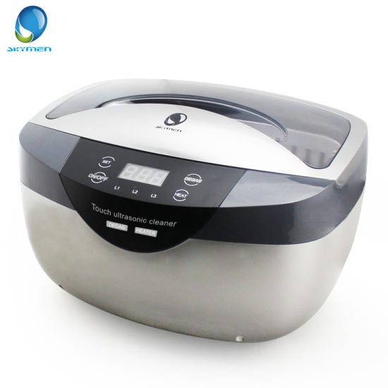 Fast Clean Tarnish with Heating Function 120W Diamond Ultrasonic Bath pictures & photos
