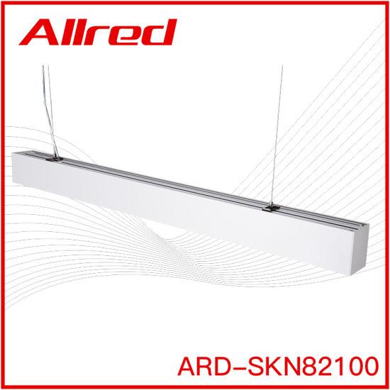 High Lumen Office Aluminum Alloy Lamp Body 10watt 18watt 30watt LED Linear Light
