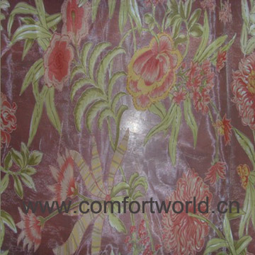 Etched-out Upholstery Curtain Fabric
