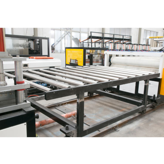 High Quality Twin-Screw Plastic Sheet Board Extrusion Line