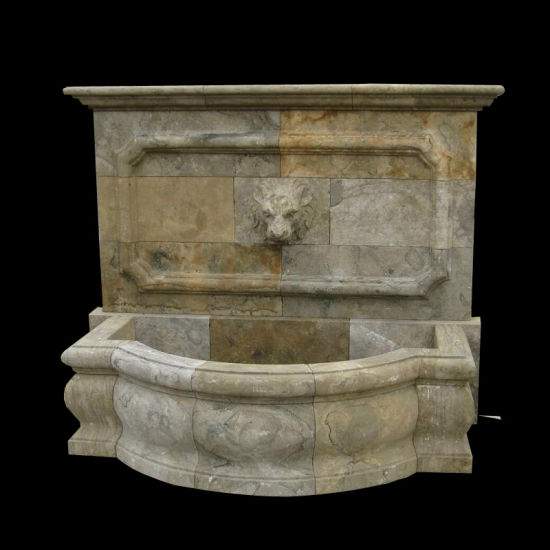Antique Finish Marble Wall Fountain pictures & photos