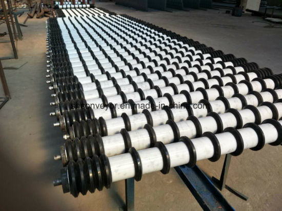 Conveyor Comb Rollers Comb Idler with Rubber Ring pictures & photos