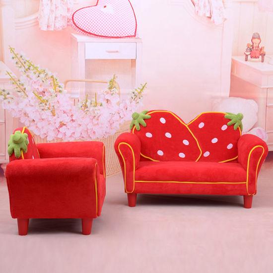 China Sweet Home Strawberry Children Furniture Fabric Sofa (SF-261 ...