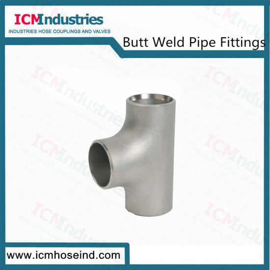 Butt Weld Ss Equal Tee Pipe Fittings