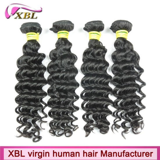 Factory Wholesale Top Grade 100% Virgin Indian Hair pictures & photos