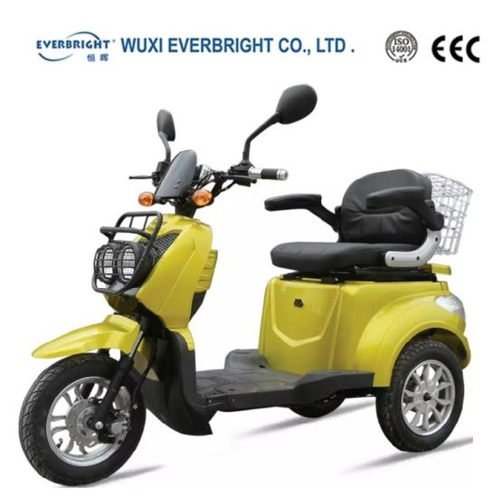 Cheap Battery Electric Tricycle Motorcycle Scooter pictures & photos