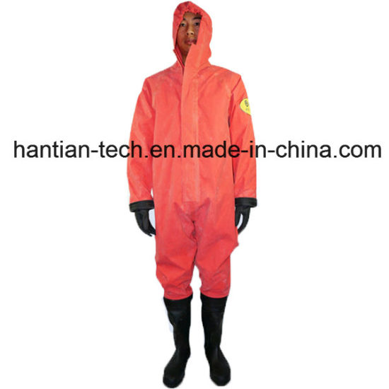 Grade 2 Anti-Fire Material Chemical Suit for Personal Protective (2WL)