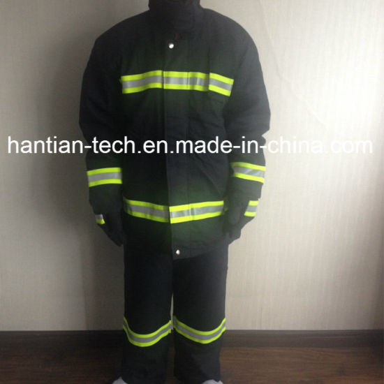 Multifunctional Protective Clothing Flame Retardant Suit for Fire Fighting