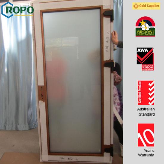 China European Style Pvc Entry Doors Exterior French Doors China
