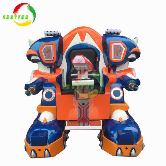 Robot Children Ride for Shopping Mall, New Battery Operated Children Ride,  Mechanical Walking Ride