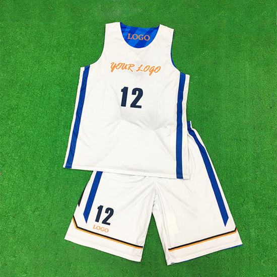 High Quality Digital Printing Sportswear Reversible Custom Wholesale Basketball Uniform pictures & photos