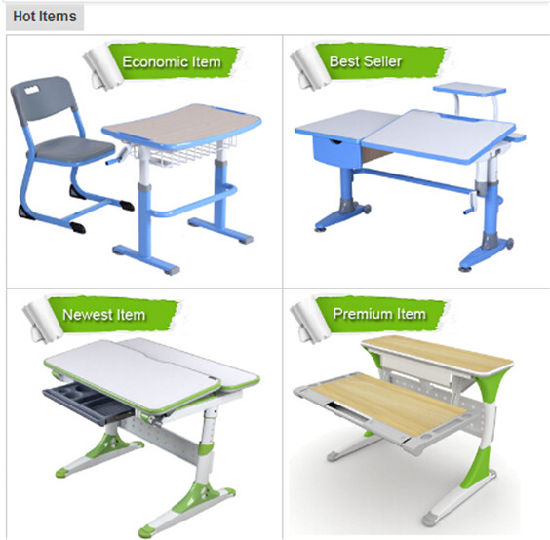 High-Quality Family Ergonomic MDF Children Furniture Children Table pictures & photos