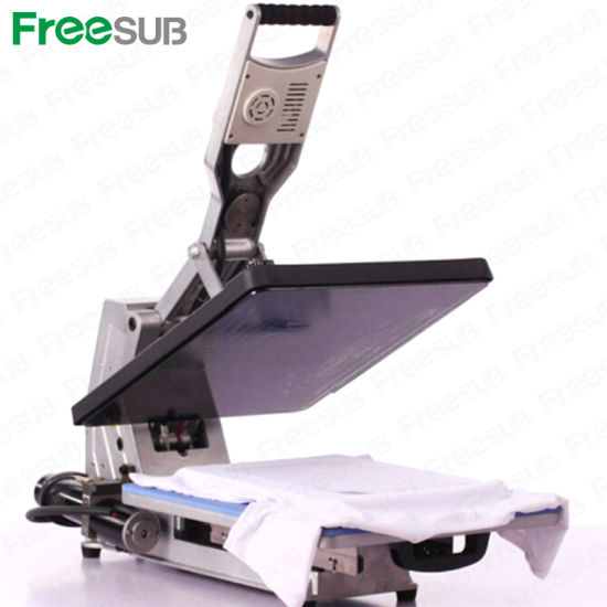 Sunmeta Flatbed Automatic Hydraulic T-Shirt Heat Transfer Machine (ST-4050A) pictures & photos