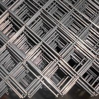 Hot-Dipped Galvanized or PVC Coated Welded Wire Mesh Security Fence Panels