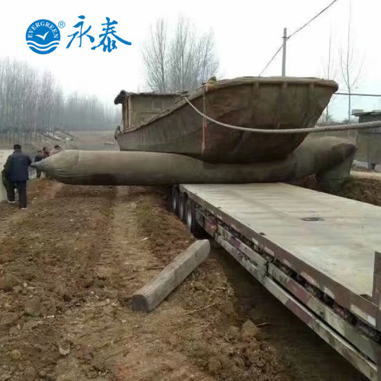 BV Certificated Pneumatic Rubber Ship Launching Airbag for Sale