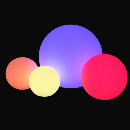 Ball Light Outdoor In Color Changing