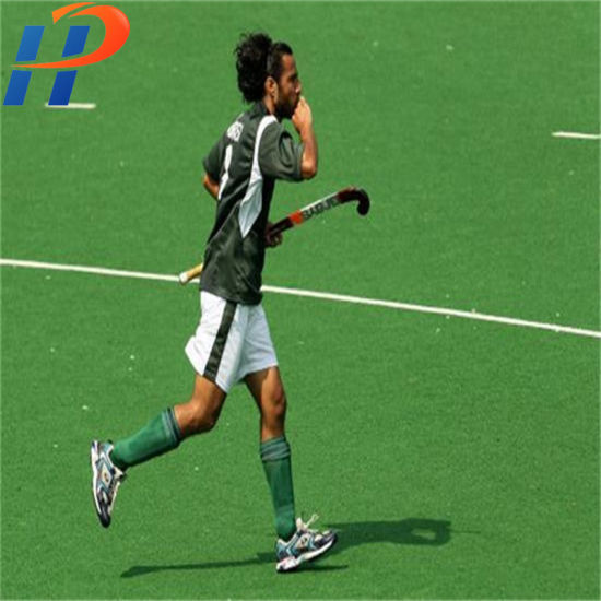 Good Elasticity Durable Synthetic Turf Carpet Artificial Grass for Hockey Fields Used