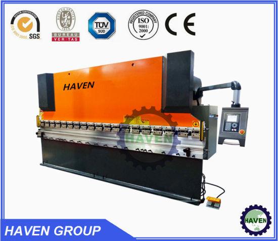 WC67Y 200/2500 Hydraulic Steel Sheet Industrial Bedsheet Folding Machine